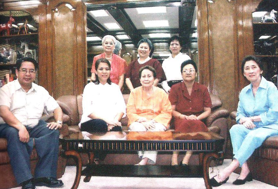 Our incumbent board of trustees( seated, from left: Fermin Adriano, president of The Hospice Institute of the Philippines, a subsidiary of Madre de  Amor Hospice Foundation; Dr. Dory Ocampo, our medical director and secretary of the board; Carolina G. Guerrero, chairman of the board; Alicia A. Capiral, trustee;  Milagros T. Basa, treasurer, standing from left: Marcia B. Sandoval, trustee; Monina A. Mercado, president; Lourdes Adriano, trustee)